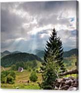 Transylvania Landscape - Romania Canvas Print