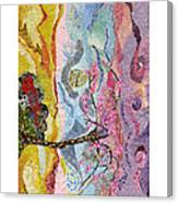 Trapped In Beauty Canvas Print