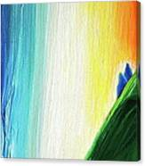 Travelers Rainbow Waterfall Detail Canvas Print