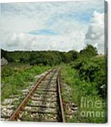 Traveling Towards One's Dream Canvas Print