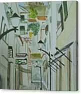 Travessa Da Cadeia Canvas Print