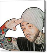 Travie Mccoy Canvas Print