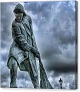 Trawlermens Memorial 2 Canvas Print