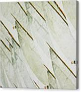 Tre Bandiere Canvas Print