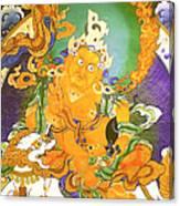 Treasurer Of The Gods - Kubera 20 Canvas Print