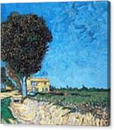 Tree House At A Farm Canvas Print