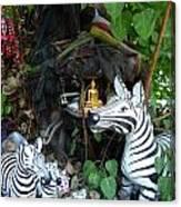 Tree Shrine Canvas Print