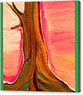 Tree Trunk Canvas Print
