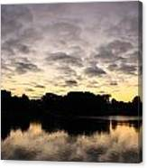 Trees Reflecting Canvas Print