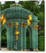 Trellis At Schloss Sanssouci Canvas Print