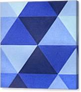 Triangles B8001 Canvas Print