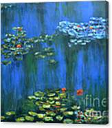Tribute To Monet 1 Canvas Print