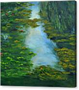 Tribute To Monet 3 Canvas Print