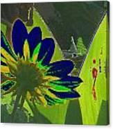 Tricked Leaf Canvas Print