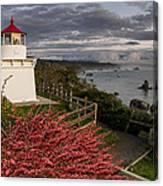 Trinidad Memorial Lighthouse After Storm Canvas Print
