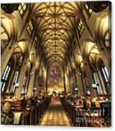 Trinity Church Nyc Canvas Print