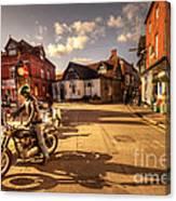 Triumph In Much Wenlock  Canvas Print