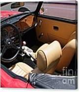 Triumph Tr6 Seats Canvas Print