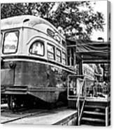 Trolley Car Diner - Philadelphia Canvas Print