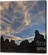 Trona Pinnacles 6 Canvas Print