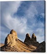 Trona Pinnacles Canvas Print