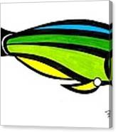 Tropical Fish Fantasy In Color  Canvas Print