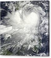 Tropical Storm Nock-ten Canvas Print