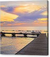 Tropical Sunset- 4- St Lucia Canvas Print