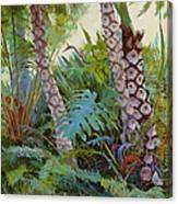 Tropical Underwood Canvas Print