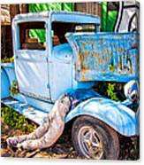 Trouble On Route 66 Canvas Print