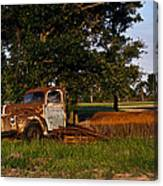 Truck And Tank 3 Canvas Print