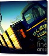 Truck On Route 66 Canvas Print