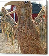 Truly A Scarecrow Canvas Print