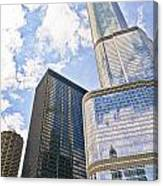 Trump Tower Grabs The Sky Canvas Print