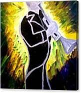 Trumpet Fever Canvas Print