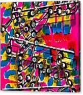 Jazz Trumpet Solo 1 Canvas Print