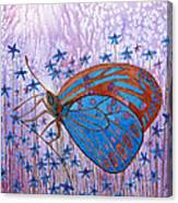 Trust Butterfly Canvas Print