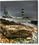 Trwyn Du Lighthouse Canvas Print