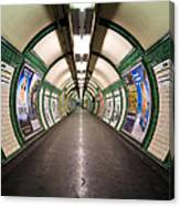 Tube Tunnel Canvas Print