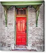 Tucson Red Door Canvas Print