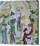 Tudor  Evening Canvas Print