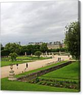 Tuileries Gardens 4 Canvas Print