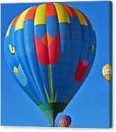 Tulip Hot Air Balloon Canvas Print