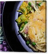 Tuna Noodle Casserole Canvas Print