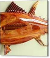 Tuna Sculpture Canvas Print
