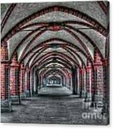 Tunnel With Arches Canvas Print