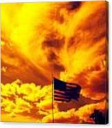 Turbulant America Canvas Print