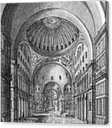 Turkey: Hagia Sophia, 1680 Canvas Print