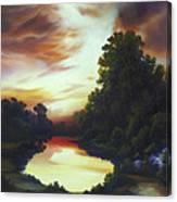 Turner's Sunrise Canvas Print
