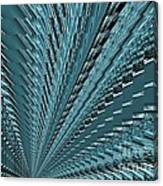 Turquoise Abstract Canvas Print
